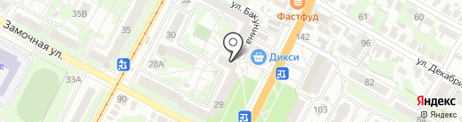 Трюм на карте Тулы