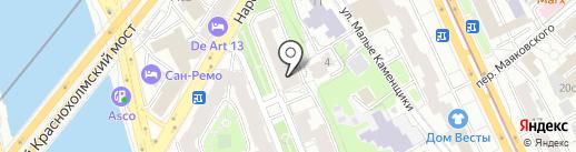 Дженерал Экспресс на карте Москвы