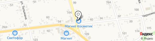Магнит Косметик на карте Варениковской