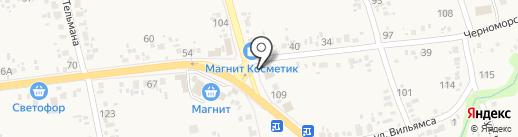 Агрокомплекс на карте Варениковской
