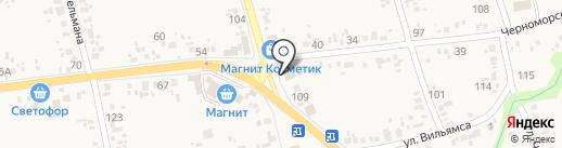 Аптека на карте Варениковской