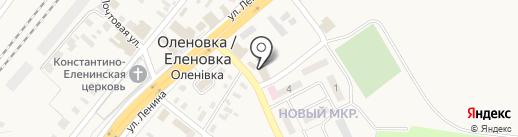 Троянда на карте Оленовки