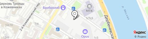 РосЕвроТест на карте Москвы
