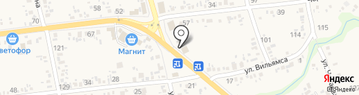 Мясной дворик на карте Варениковской