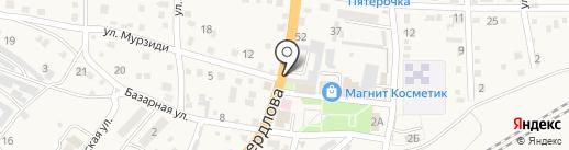Продукты 24 на карте Новороссийска