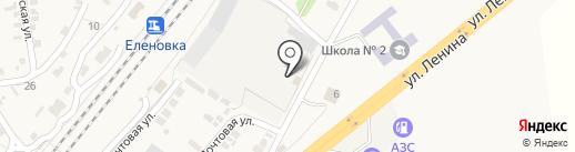 Катюша на карте Оленовки