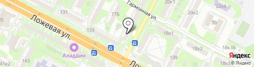 Носкофф на карте Тулы