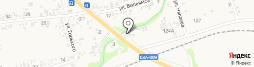 Айсберг на карте Варениковской