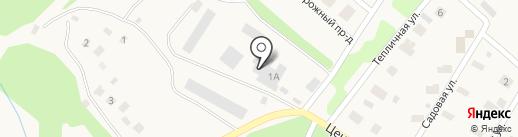 Норд Аква-Т на карте Архангельского