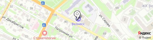 VitaDance на карте Тулы