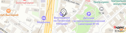 Slimtel на карте Москвы