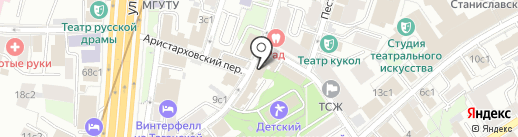 Качество жизни на карте Москвы