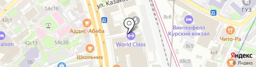 Химтехномаш на карте Москвы