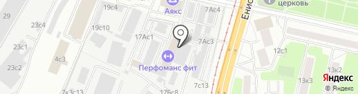 Нефтемаш-Деталь на карте Москвы