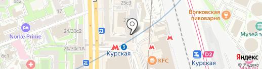 Компания по созданию и продвижению веб-сайтов на карте Москвы