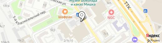 Wei Wang на карте Москвы