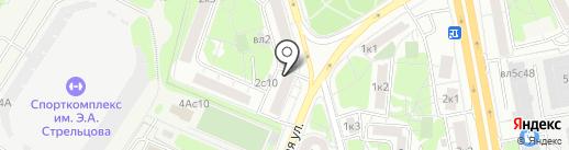 Гладильная №1 на карте Москвы