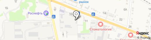Завод кровельных материалов на карте Варениковской
