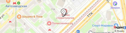 Reroom на карте Москвы