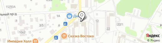 Медиа-Селект на карте Видного