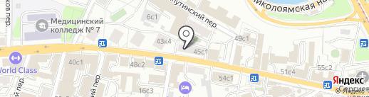 ПРЕМИУМ на карте Москвы