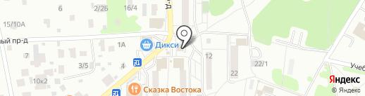 Бычок и пятачок на карте Видного