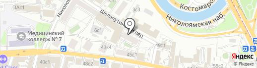 РосМеталл на карте Москвы
