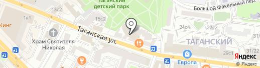 FCG на карте Москвы