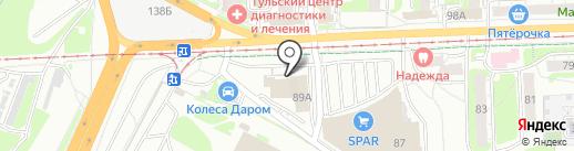 GoldSun на карте Тулы