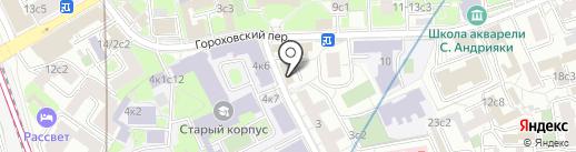 Культура и спорт на карте Москвы