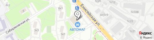 Пир Пирожок на карте Москвы