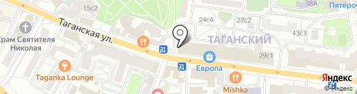 Семейная парикмахерская на карте Москвы
