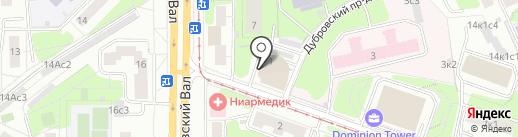 Промпрогресс на карте Москвы