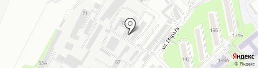 УАЗ Центр на карте Тулы