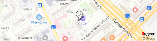 Зум-Стор на карте Москвы