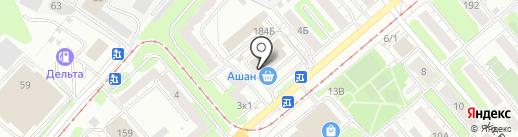 Ашан на карте Тулы