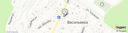 Цемдолинское сельпо на карте Новороссийска