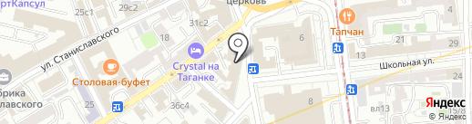 ИнтерполКриминалЦентр на карте Москвы