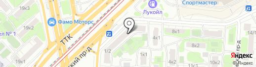 Alexika на карте Москвы