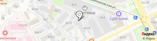 Extory Sport на карте Москвы