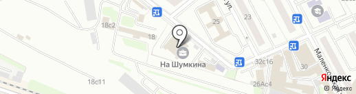ЭОС на карте Москвы