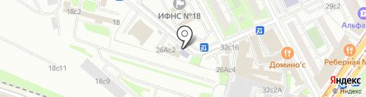 Высшая школа лидерства на карте Москвы