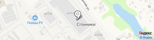 АРТ СК на карте Мытищ