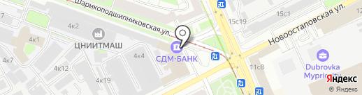 Вебер-Бауэр на карте Москвы