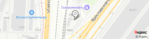 ЛинаМоторс на карте Москвы