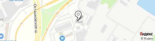 Реутов на карте Мытищ