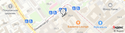 Konserwa на карте Москвы