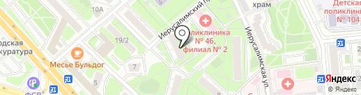 Mosklapan на карте Москвы