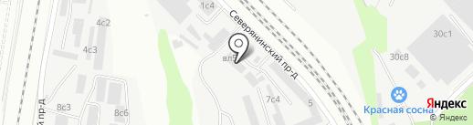 Экспресс транс сервис на карте Москвы