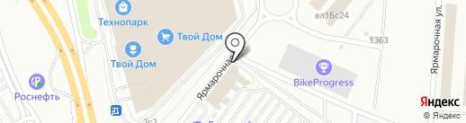 ЕвроКомТранс на карте Мытищ
